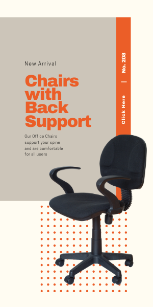 Chairs with Back Support